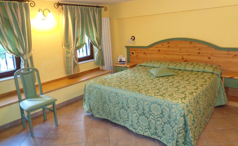 with spacious comfortable rooms